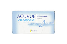 ACUVUE ADVANCE with HYDRACLEAR 1x6 Kontaktlinsen +