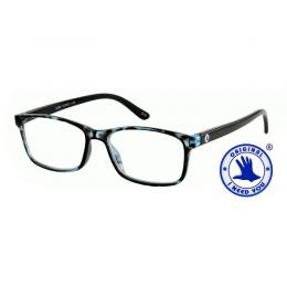 I NEED YOU Lesebrille LUCA blau havanna