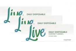 Live daily disposable, 90er Pack