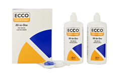 MPG&E Ecco All-in-One 2x 360ml1x Kontaktlinsenbehälter